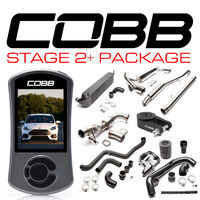 COBB TUNING STAGE 2+ POWER PACKAGE BLACK - FORD FOCUS RS LZ 16-17